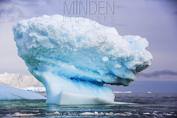 Iceberg off Detaille Island, Graham Land, Antarctica. January 2020.