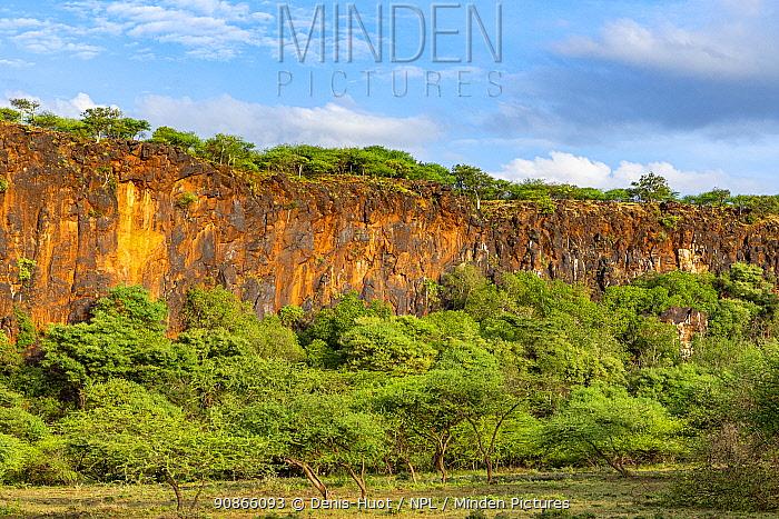 Rift Valley around Lake Baringo, North Kenya. February 2020.