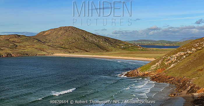Tra na Rossan landscape, Rossguill Peninsula, County Donegal, Northern Ireland.