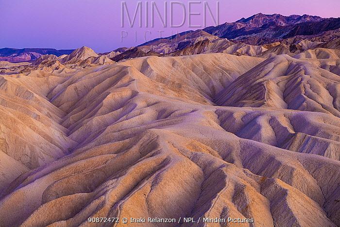 Zabriskie Point,, Death Valley National Park, California, USA.
