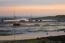 Bembridge Harbour on the Isle of Wight, Isle of Wight, Hampshire  -  Adam Burton/ npl