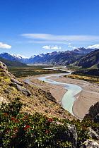 Mountains around the Fitzroy Range, El Chalten, Argentina. Patagonia. January 2014.