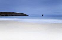 Broadhaven Beach, Pembrokeshire Coast National Park, Pembrokeshire, Wales, March 2012